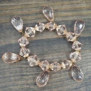 VINTAGE Plastic Crystal Bracelet